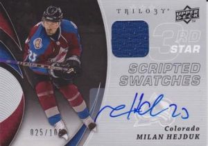 Scripted Swatches 3rd Star Milan Hejduk