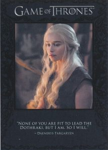 The Quotable Daenerys Targaryn