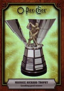 Trophy Cards Maurice Richard