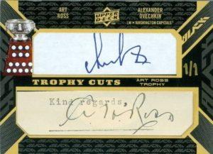 Trophy Cuts Alexander Ovechkin, Art Ross