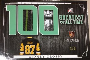 100 Greatest of All Time Sidney Crosby