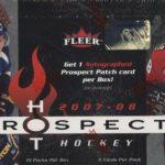 2007-08 Fleer Hot Prospects Box