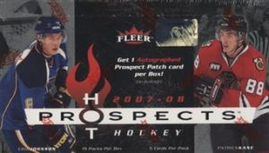 2007-08 Fleer Hot Prospects Box