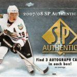 2007-08 SP Authentic Box