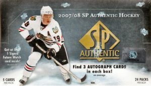 2007-08 SP Authentic Box