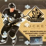 2007-08 SP Game Used Box
