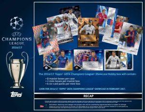 2016-17 UEFA Champions League Showcase Sell Sheet