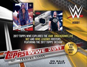 2017 Topps WWE Sell Sheet