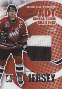ADT Canada-Russia Challenge Jersey Karl Alzner
