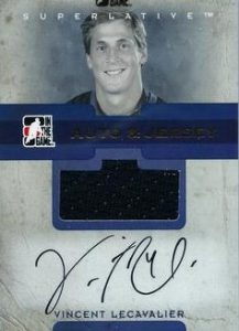 Auto Game-Used Jersey Vincent Lecavalier