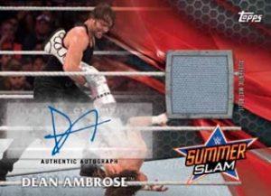 Auto Mat Relics Dean Ambrose