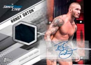 Auto Shirt Relics Randy Orton