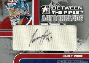 AutoThreads Carey Price