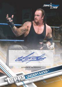 Autographs Undertaker