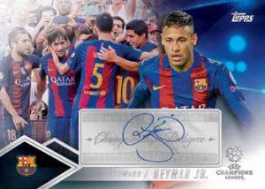 Champions Pedigree Auto Neymar Jr