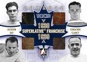 Decades Busher Jackson, Charlie Conacher, Hap Day, King Clancy