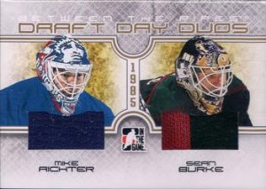 Draft Day Duos Mike Richter, Sean Burke
