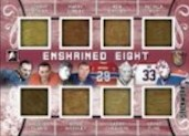 Enshrined 8 Johnny Bower / Jacques Plante / Harry Lumley / Gump Worsley / Ken Dryden / Gerry Cheevers / Patrick Roy / Grant Fuhr