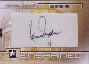Enshrined Ken Dryden