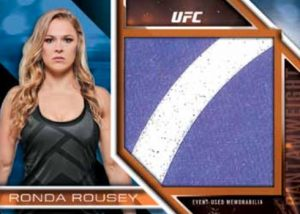 Fight Mat Relic Ronda Rousey