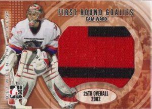 First Round Goalies Cam Ward