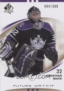 Future Watch Jonathan Quick