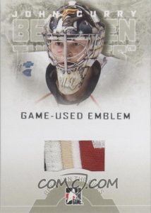 Game-Used Emblem John Curry