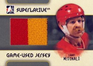 Game-Used Jersey Lanny McDonald