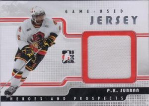 Game-Used Jersey PK Subban