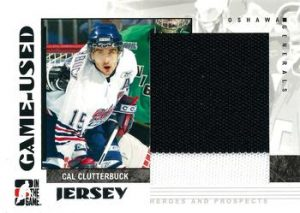 Game-Used Jerseys Cal Clutterbuck