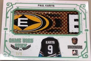 Game-Used Stick Paul Kariya