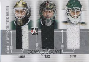 Goaltending Evolution Ed Belfour, Marty Turco, Tobias Stepan