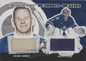 He Shoots He Saves Redeemed Johnny Bower, Justin Pogge