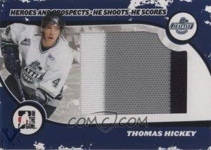 He Shoots, He Scores Thomas Hickey