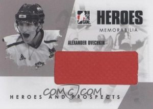 Heroes Memorabilia Alex Ovechkin