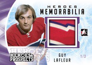 Heroes Memorabilia Guy Lafleur