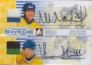 How Swede it Is Mats Naslund, Victor Hedman