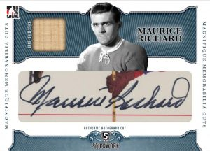 Magnifique Memorable Cut Maurice Richard