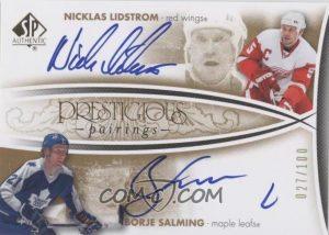 Prestigious Pairings Nicklas Lidstrom, Borje Salming