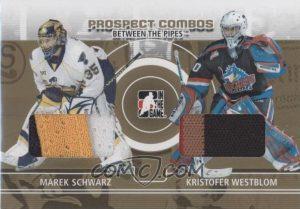 Prospect Combos Gold Marek Schwartz, Kristofer Westblom