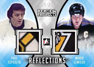 Reflections Phil Esposito, Mario Lemieux