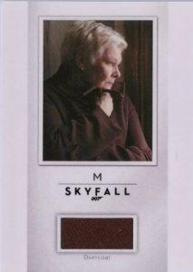 Relics Judie Dench M Overcoat Skyfall