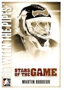 Stars of the Game Base Martin Brodeur