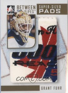 Super-Sized Pads Gold Grant Fuhr
