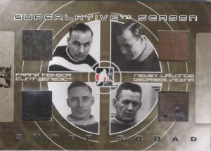Superlative Season Super Squad Frank Nighbor, Newsy Lalonde, Clint Benedict, Georges Vezina