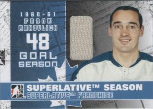 Superlatve Season Frank Mahovlich