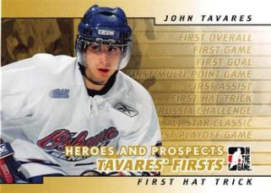 Tavares Firsts 1st Hat Trick