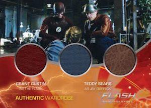 Triple Wardrobe Grant Gustin, Teddy Sears