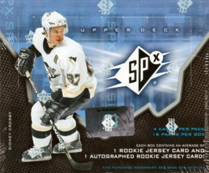 2006-07 SPx Hockey Box