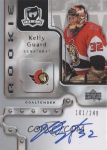 Autographed Rookies Kelly Guard